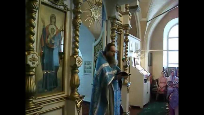 Иерей Виктор Пасечнюк. Любовь излитая Духом в сердца наши (в Неделю 3-ю, Рим.14,17)