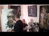 Краткое знакомство с творчеством уникального французского художника Jeremy Kleinberg.