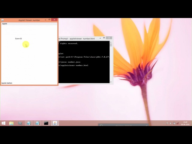 How To Save And Run The Applet Program | Java Tutorial