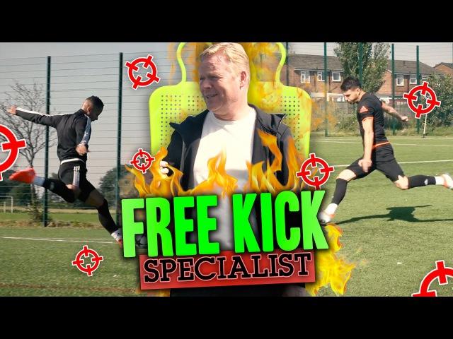 HOW TO TAKE THE PERFECT FREEKICK! ft. RONALD KOEMAN
