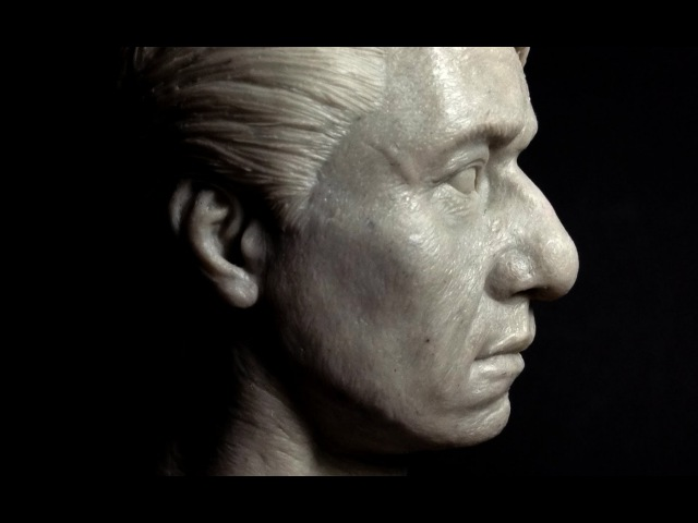 Sculpting Jackie Chan Head 1:6 Scale Hot Toys quality : Part 2 of 2
