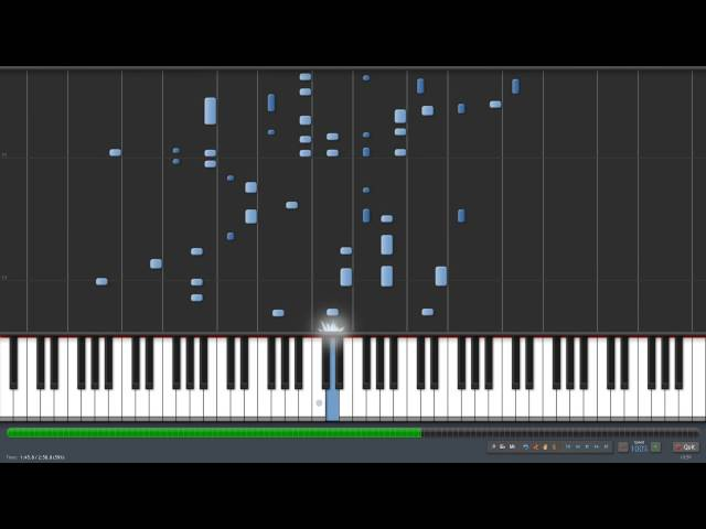 Ori and the Blind Forest - Light of Nibel (Piano) Synthesia
