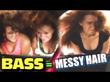 CUTE Girls Meet Loud Music w Justins Hair Raising 25kw BASS System on 4 18
