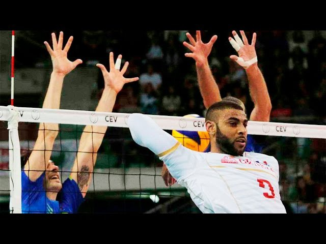 TOP 20 Crazy Actions By Earvin NGapeth