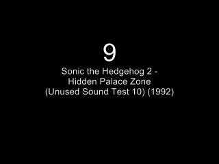 Sonic the Hedgehog 2 Music Similarities