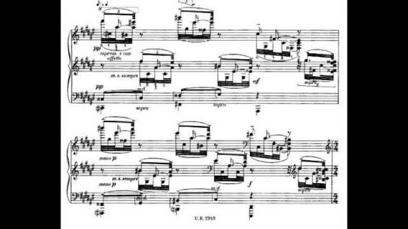 Samuil Feinberg - Preludes for Piano, Op. 15 (1923) [Score-Video]