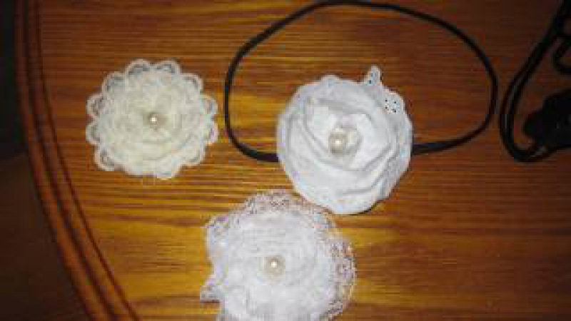 How to Make a Lace Bow Flower