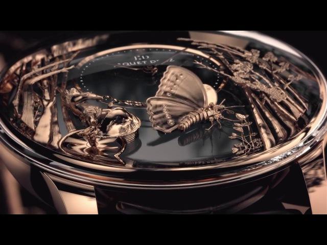Magic Jaquet Droz Loving Butterfly Automaton-HD-Baselworld2017
