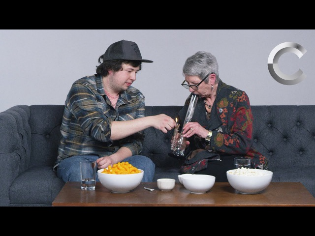 A Stoner Smokes Weed with his Grandma for the First Time highway420