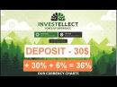 INVESTELLECT – Депозит 30$ под 30% в месяц | Как сделать Депозит | Как пополнить кошелек Payeer