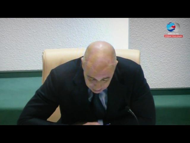 Министр финансов РФ А. Силуанов о перераспределении средств СПР