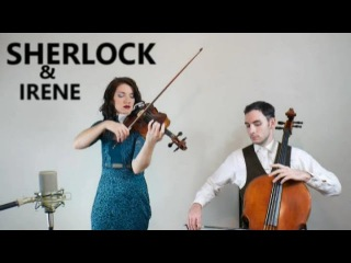 Sherlock's Theme Song and Irene's Theme (Sherlock BBC) - violin and cello cover (part 1)
