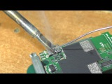 Замена micro-USB разъёма паяльником (без фена). Смартфон Fly FS501