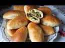 Тесто на пирожки как пух на кефире быстрое за 30 минут/начинка с луком и яйцом/Patties in the oven