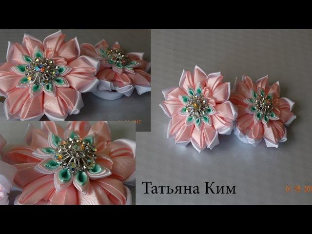 Резиночки Канзаши Канзаши Kanzachi rubber bands 簪