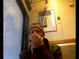 Harp Vlog #2 Jason Ricci in Holland on the Train to Breda (Warning Adult Language)