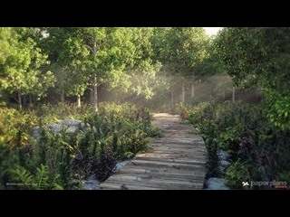3dsMax Environment Creation _ Making of forest Path scene