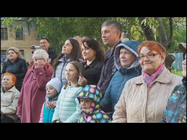 Имя ветерана войны, Почетного гражданина города Александра Морщинина увековечили вологжане