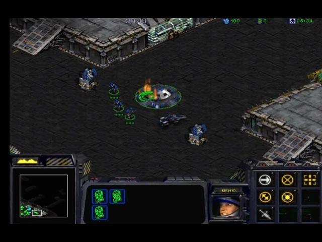 Starcraft - Що ми тут стоїмо, щас долбойоби прибіжать! · coub, коуб