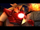 The Legend Of Dragoon (PS1) Cutscene - Dart's Red-Eye Dragoon Spirit Awakening (720p)