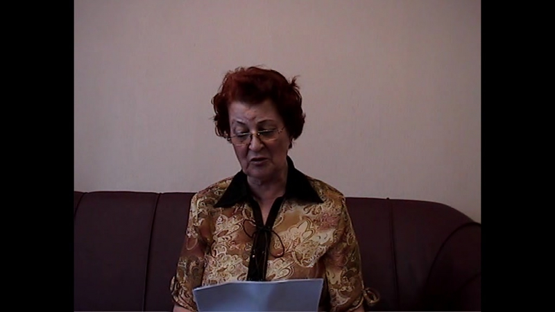 Рукосуева Галина. Авторы Нового Енисейского литератора читают свои стихи. 2011 год