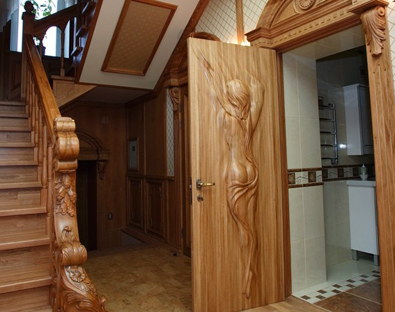 Резной декор из дерева м  Волгоградский проспект
