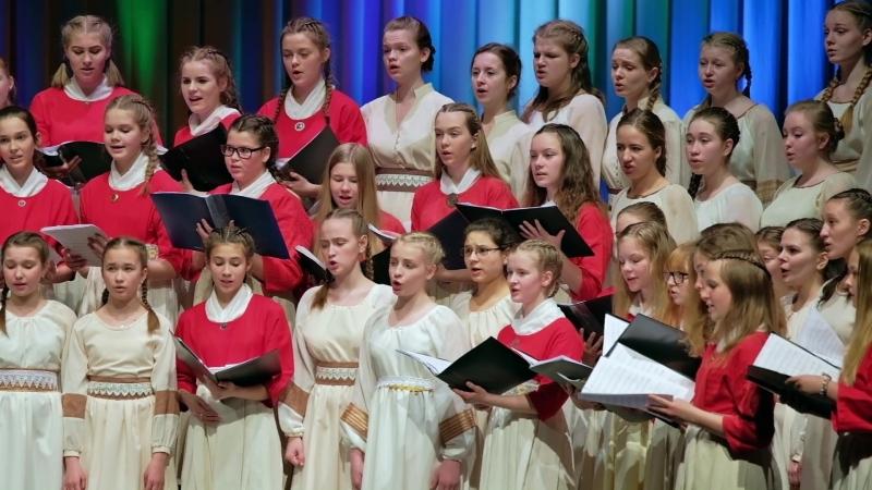 Детский хор эстонского радио и детский хор петрозаводского ДТДиЮ Теллерво