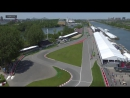 Гран-При Канады (2017) - Квалификация - Авария Паскаля Верляйна | 720 HD