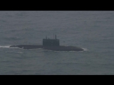 Британцы сняли на видео российскую подлодку в Ла-Манше