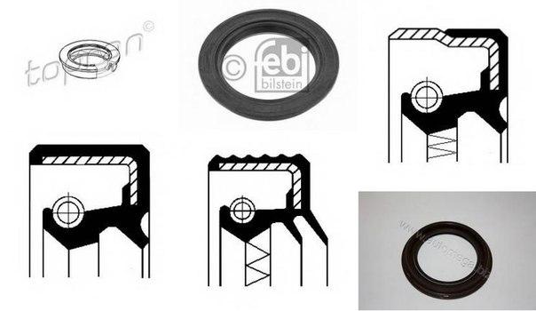 Уплотняющее кольцо, ступица колеса для AUDI CABRIOLET (8G7, B4)