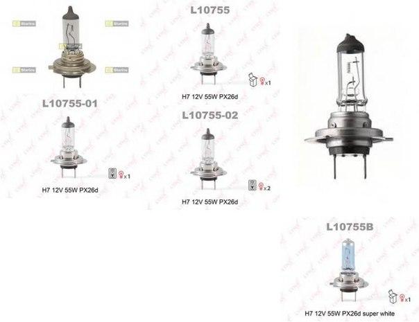 Лампа накаливания, противотуманная фара; Лампа накаливания, фара с авт. системой стабилизации для AUDI Q7 (4L)