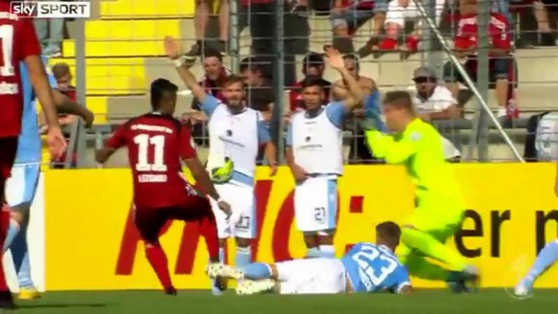 DFB-Pokal 2018 1.Runde Highlights TSV 1860 München gegen Schanzer Ingolstadt
