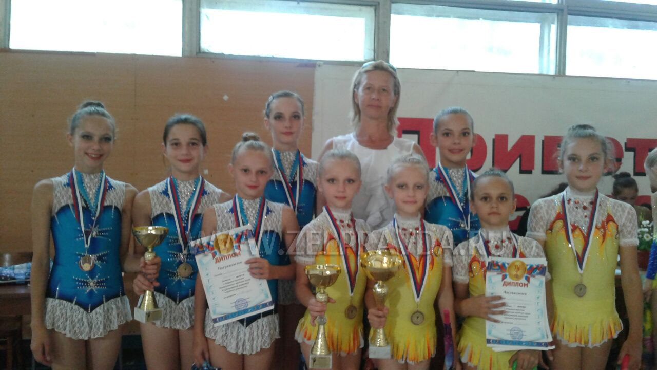 Зеленчукские гимнастки призеры Открытого первенства Минераловодского городского округа