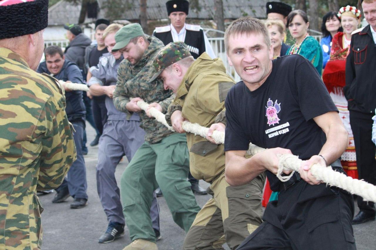 Казаки из Зеленчукского района призеры спартакиады