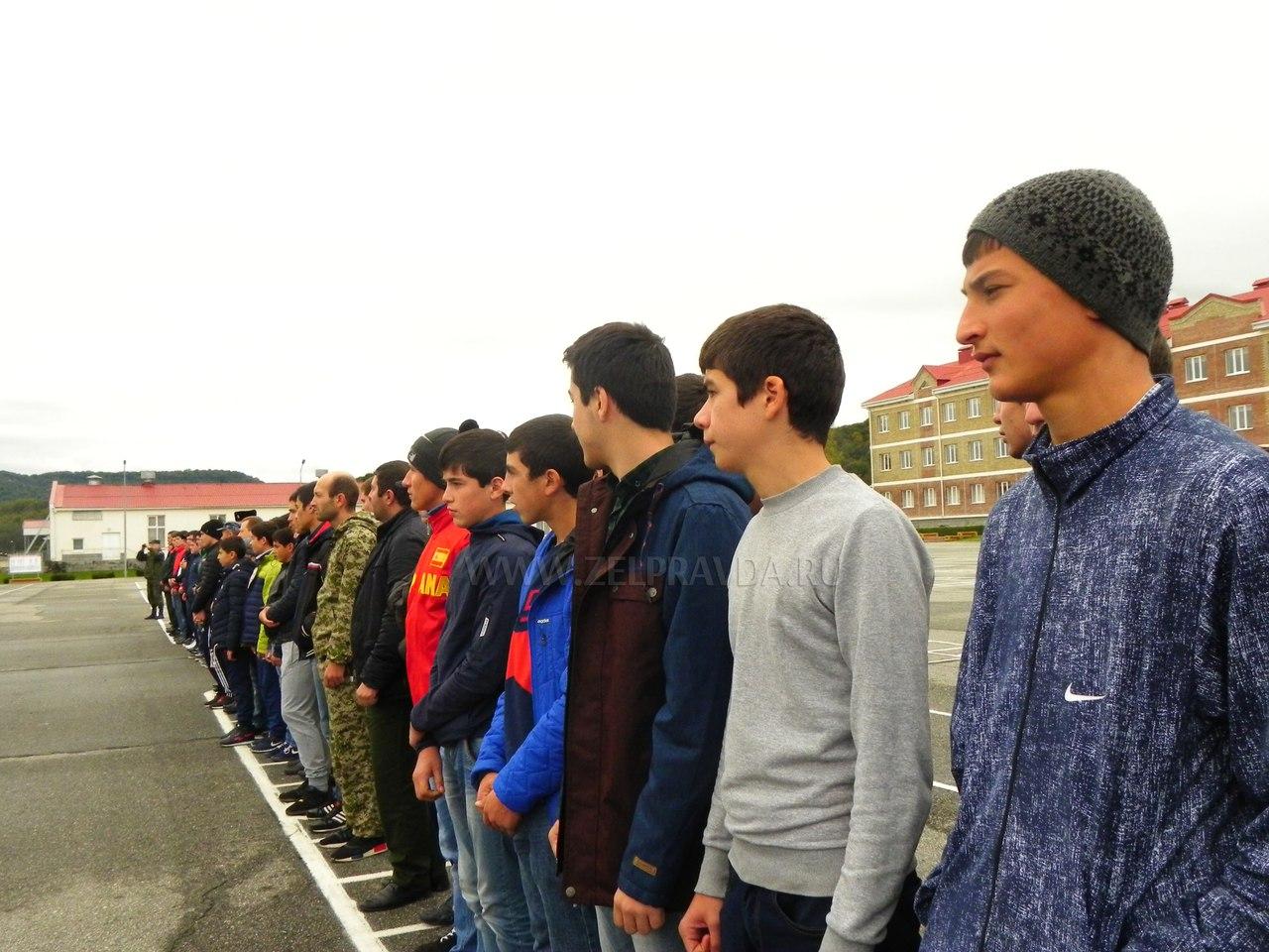 В Зеленчукском районе прошел День призывника