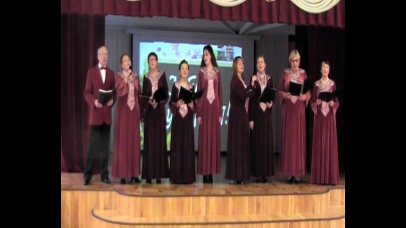 Концерт в школе 217 Санкт Перербург посвященный дню Учителя перед зрителями выступал Ансамбль авторской песни Серебряный родник