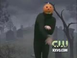 Тыква танцует Ghostbusters