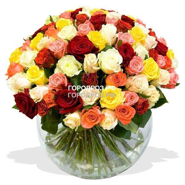 Заказать цветы с доставкой  на дом в Москве