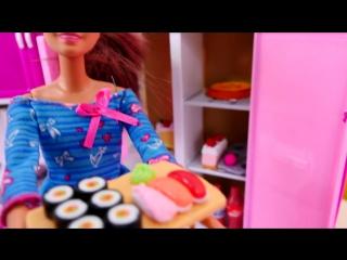 Видео для девочек: Кукла #Барби и Тереза поменялись местами! ГОРОД или ДЕРЕВНЯ!  Мультик Барби