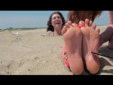 Daphney Beach Tickle Feet Torture