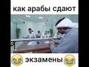 как арабы сдают экзамен