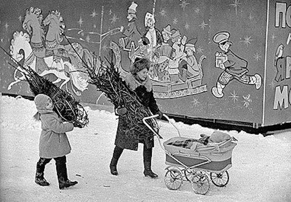 Приятные хлопоты. СССР. 1960-е.