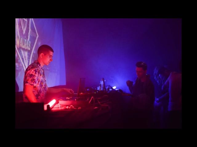 Walras LIVE (Outbreak Retrowave party)