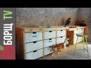 Верстак в мастерскую. Обустройство столярной мастерской, часть 1