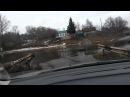 Потоп в Кромах (март 2016) мост между д.Драгунская и Пушкарная
