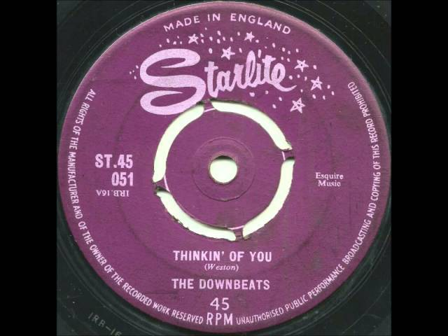 Downbeats - Thinkin of You - Great and RARE Uptempo Jamaican Doo Wop!