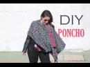 DIY Poncho Reversible