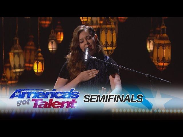 Mandy Harvey Deaf Singer Moves Crowds With Original Song America's Got Talent 2017