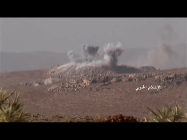 Scenes to target the Syrian army and the resistance sites of terrorists Front Nasra in Grod Arsal