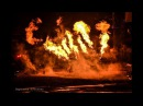 Байк-шоу Ночных Волков Русский реактор, фрагмент с огнемётным шоу проекта Фаре...